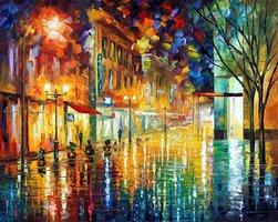 Scent of rain, Leonid Afremov