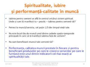 Dezvoltare personala - Legatura intre spiritualitate si munca