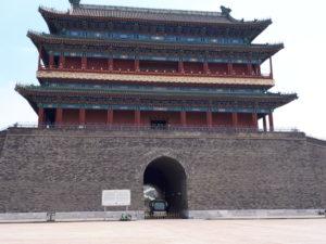 Beijing, Piața Tiananmen: poarta Qianmen